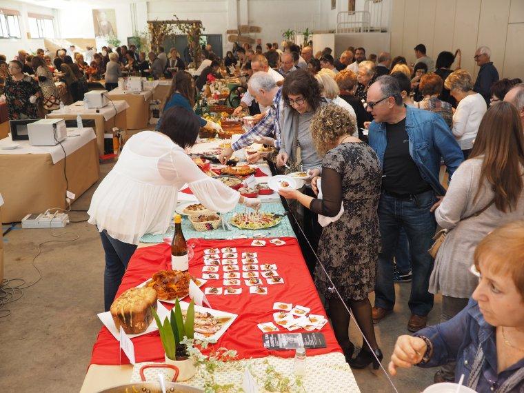 Imatge d'arxiu d'un tastet gastronòmic a Almenar