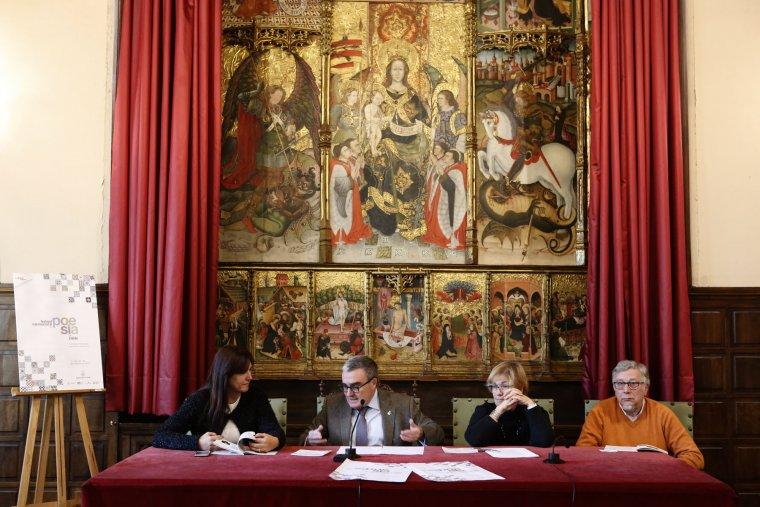Imatge de la presentació del festival de poesia