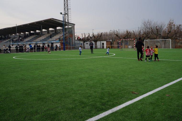 Imatge del camp de futbol del Mollerussa