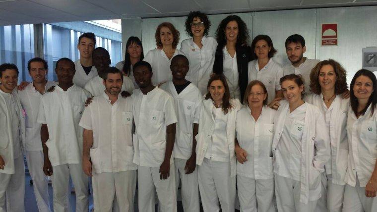 Imatge del professional de Gàmbia i de Lleida