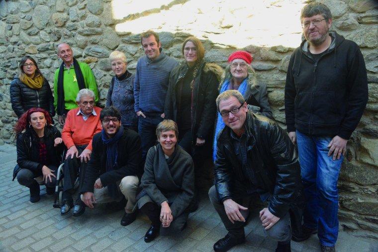 Imatge dels participants en la jornada d'aquest dimarts