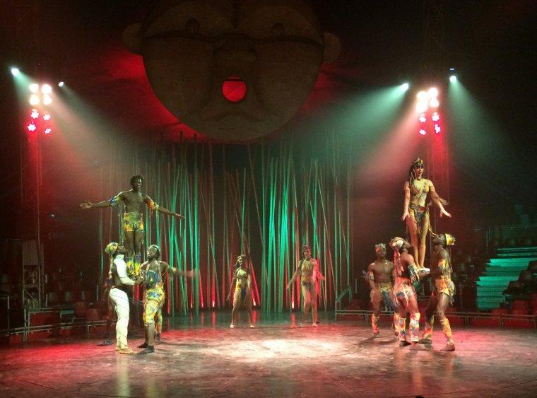 Imatge d'un moment de l'espectacle 'Salvatge'