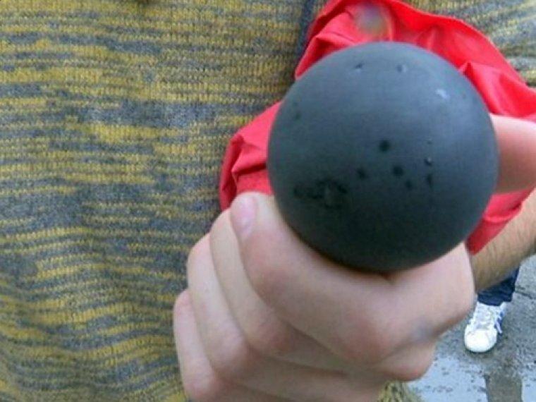 Imatge d'una pilota de goma