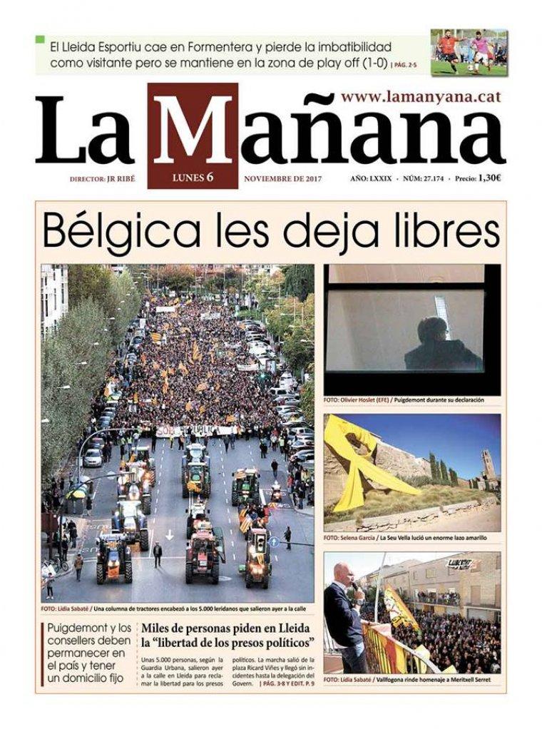 La Manyana, dia 6 de novembre
