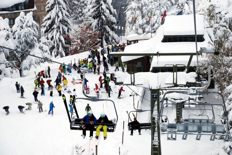 L'estació d'esquí de Baqueira Beret