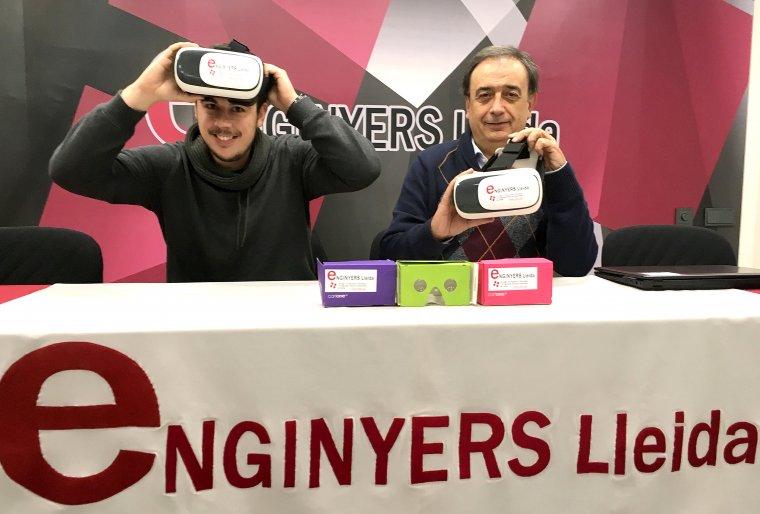 Imatge de les ulleres de realitat virtual que hi haurà al Cucalòcum