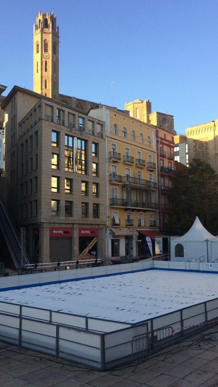 Pista de gel de Lleida
