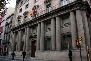Façana de l'edifici de l'antiga Audiència de Lleida, on està prevista la ubicació del Museu Morera