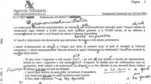 Imatge del documents amb les errades corregides