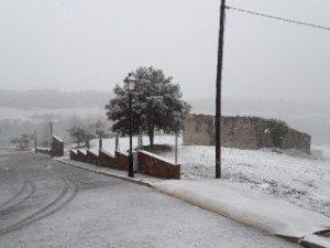 La neu ha arribat fins a la Segarra