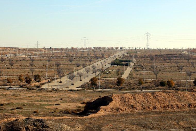 La zona del SUR 42 de Lleida (Torre Salses), on està projectada una zona comercial de mitjanes superfícies