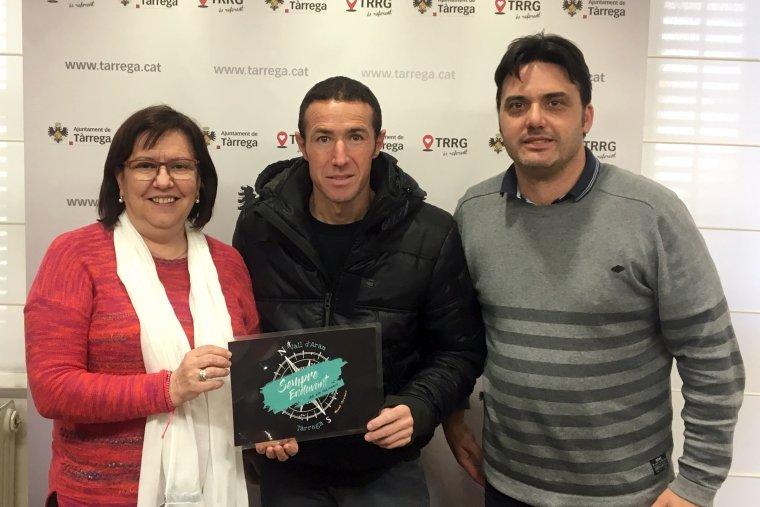 L'atleta Raul Arenas, al centre de la imatge