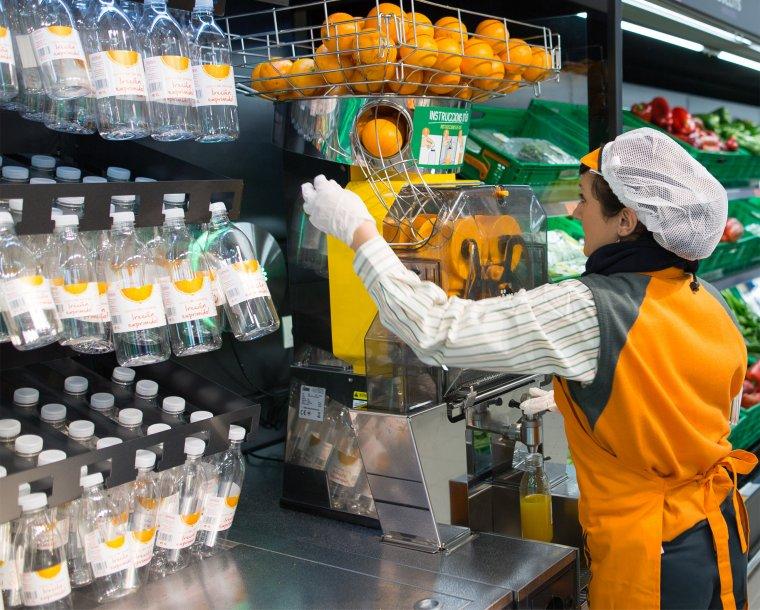 El nou servei de sucs de taronja