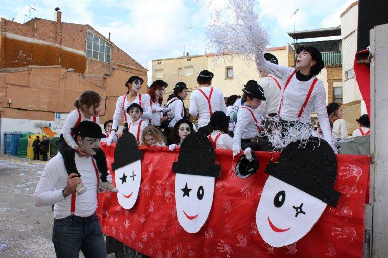 Imatge d'arxiu del Carnaval d'Alcarràs