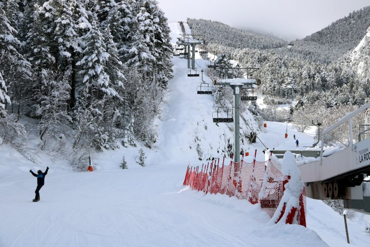 Imatge panoràmica de l'estació d'esquí d'Espot, al Pallars Sobirà