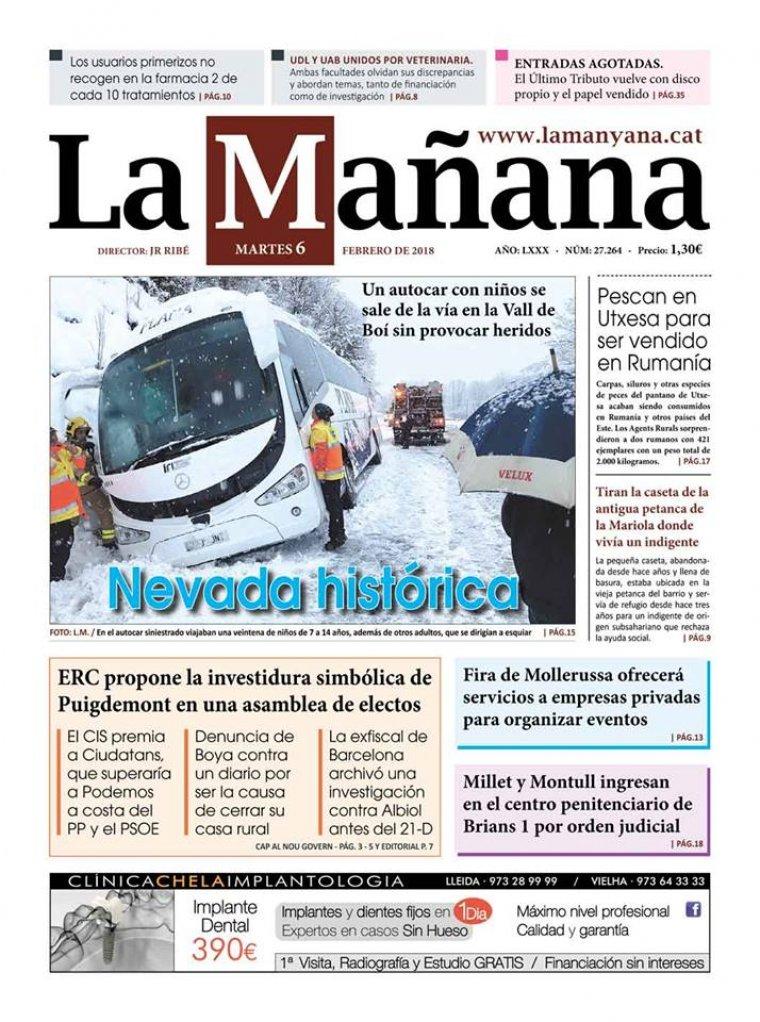 La Mañana, 6 de febrer del 2018