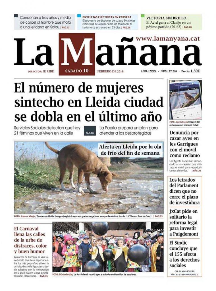 La Manyana, dia 10 de febrer de 2018