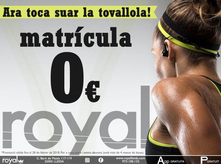 Royal Lleida, promoció febrer 2018.