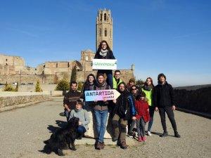 El grup de Greenpeace a Lleida