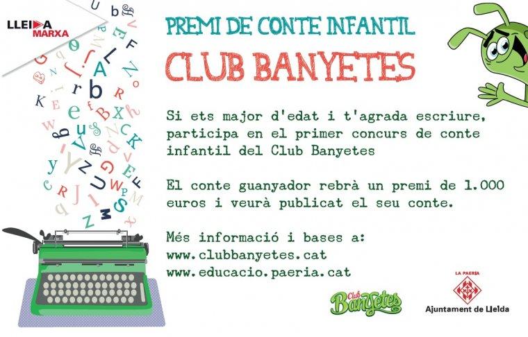 Cartell del llibre del Banyetes