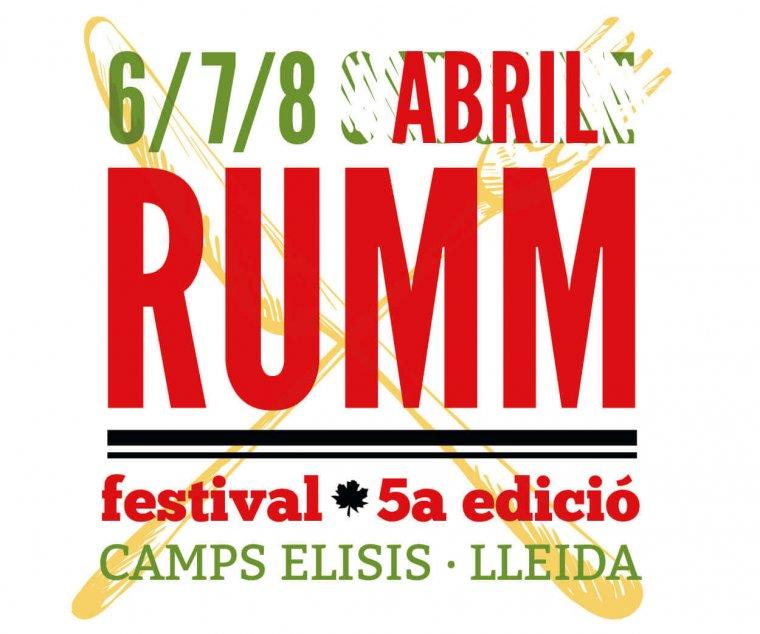 Cartell del Rumm Festival d'enguany