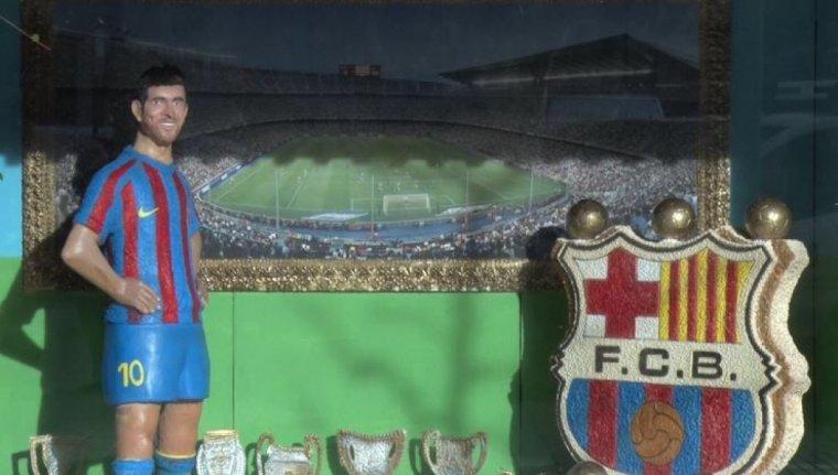 Imatge de la figura d'en Leo Messi