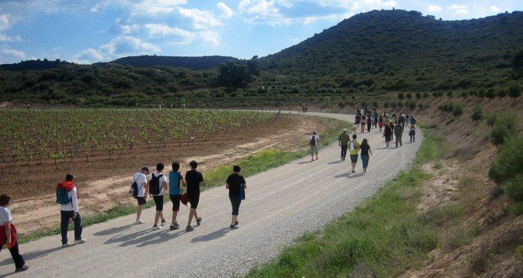 Imatge d'una sortida recent del Centre Excursionista Borges-Garrigues