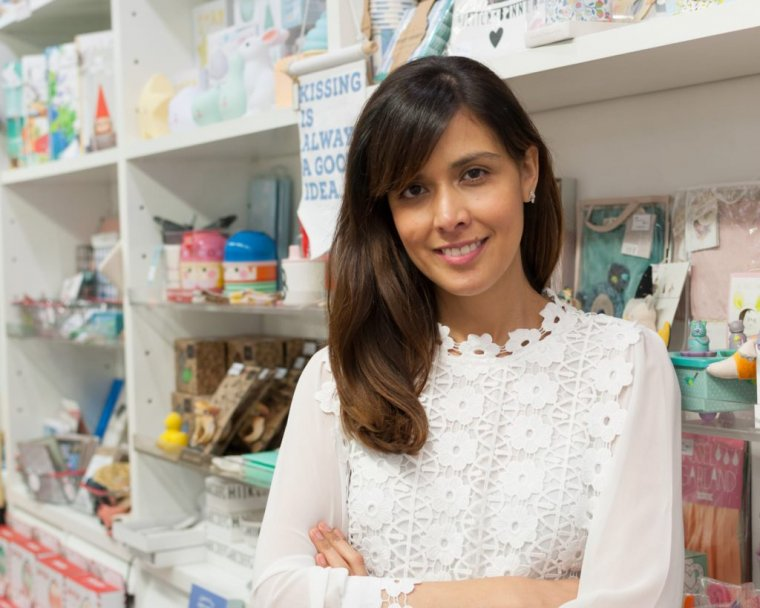 Juliana, la propietària de la llibreria Casas