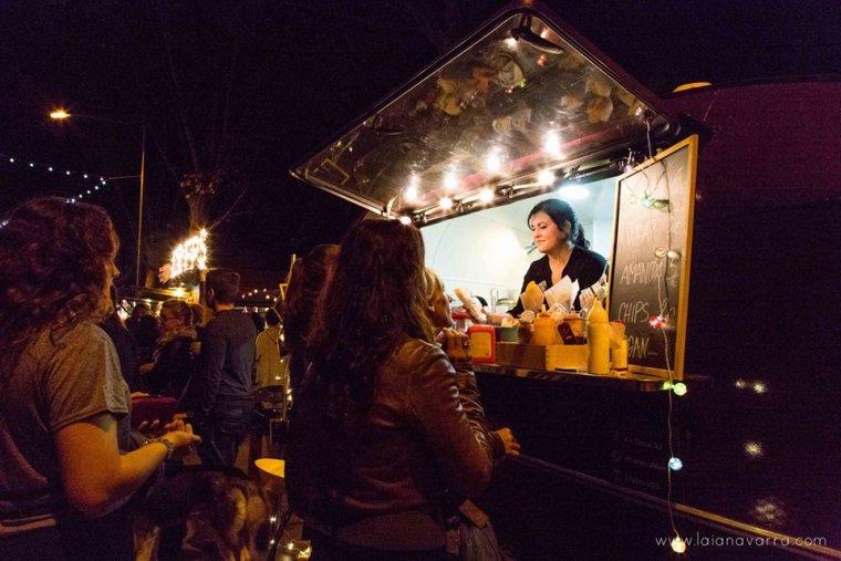 Una food truck del Rumm Festival