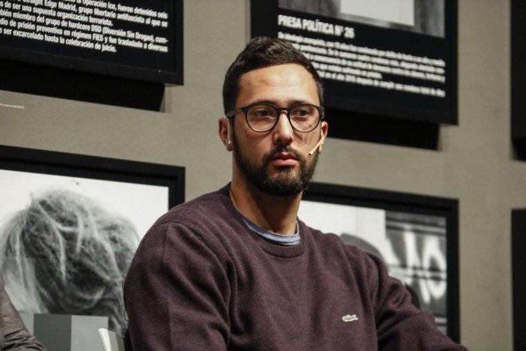 Valtonyc, en la taula rodona organitzada al Museu de Lleida sobre la creació i la censura