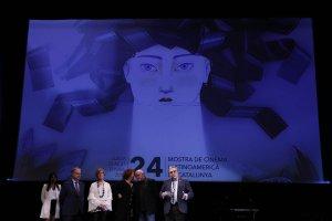 Acte d'inauguració de la Mostra de Cinema Llatinoamericà de Catalunya.
