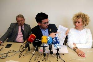 El grup municipal del PDeCAT ha ofert una roda de premsa
