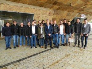 Imatge d'alguns dels participants en el festival