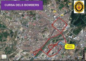 Imatge del mapa de la cursa
