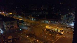 Imatge dels camions per Lleida