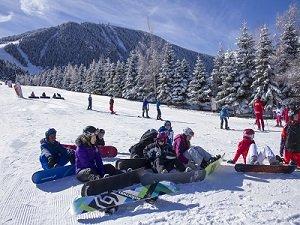 Imatge d'una pista d'esquí catalana