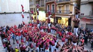 La jornada ha omplert la Plaça de la Paeria de Lleida.