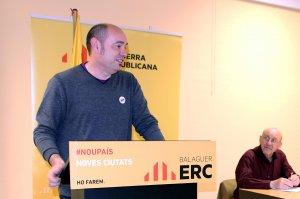 Pla mig de l'alcalde de Balaguer i candidat d'ERC a les pròximes municipals, Jordi Ignasi Vidal