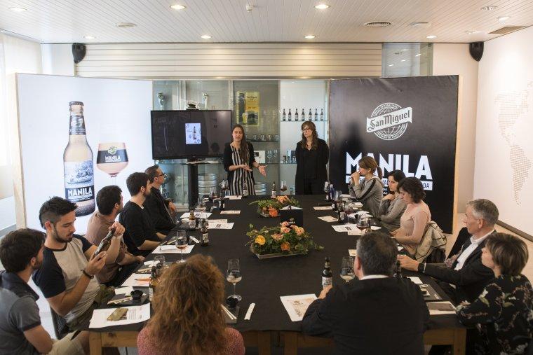 Imatge de la presentació de Manila a Lleida
