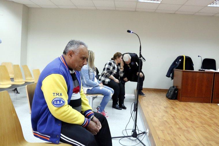 Imatge de l'acusat d'apunyalar mortalment a un home en una baralla a Albatàrrec, al judici a penal 3 de Lleida
