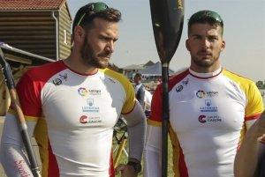 El lleidatà Saúl Craviotto i el gallec Cristian Toro.