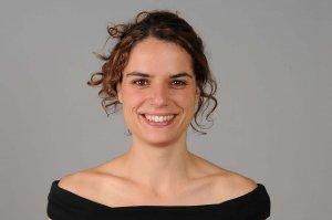 Imatge de l'actriu lleidatana encarregada de llegir el pregó