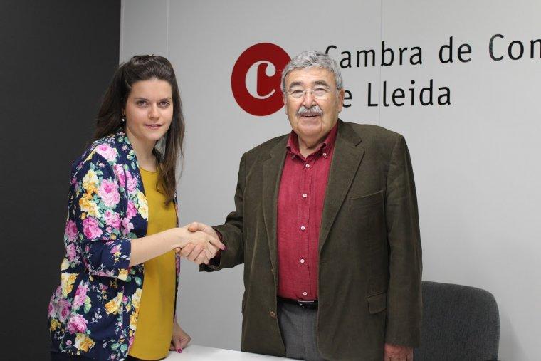 Acord entre LleidaDiari.cat i la Cambra de Comerç de Lleida.