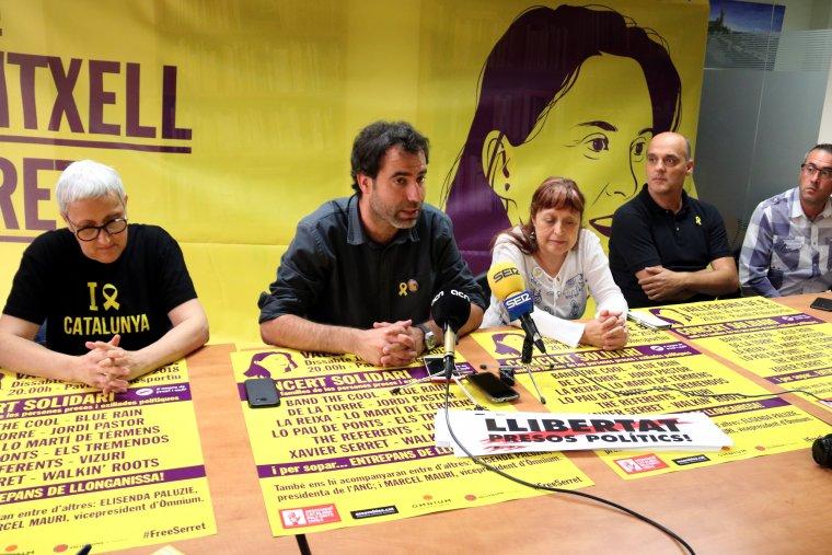 Ferran Civit, portaveu de l'Associació Catalana pels Drets Civils i parella de Meritxell Serret
