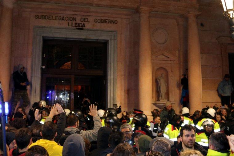 Imatge d'arxiu de la protesta del 25 de març