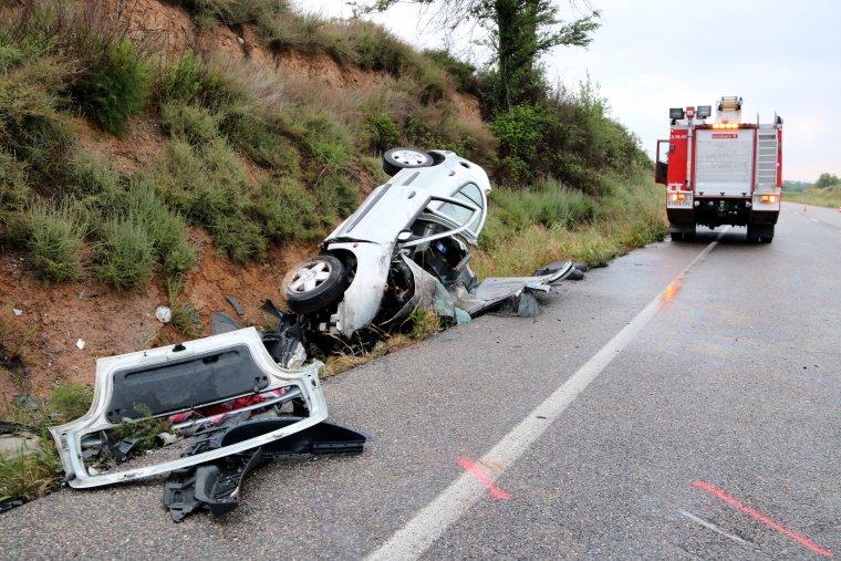 L'accident va tenir lloc a la C-12.