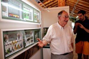El responsable del Museu de les Papallones, Alfons Dolsa