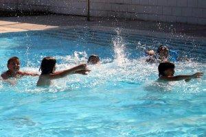 Imatge d'arxiu de les piscines del barri de la Bordeta