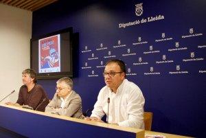 Imatge de la presentació del festival a la Diputació de Lleida