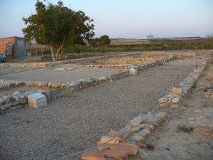 Imatge de la vil·la romana d'Albesa